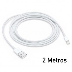Cable USB a Lighting 2 Metros