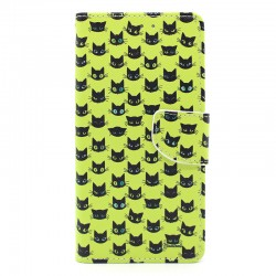 Funda libro gatos