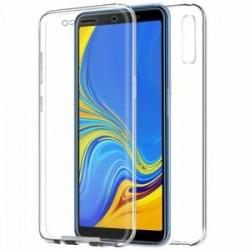 Funda gel Doble Galaxy A7 2018