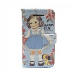 Funda de tapa Happy time Iphone 4G