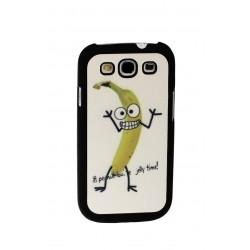 Plátano contento