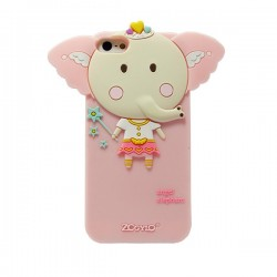 Funda silicona Angel Elephant Iphone 4