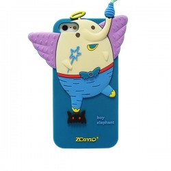 Funda silicona Boy Elephant Iphone 4