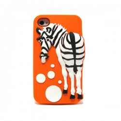 Funda Zebra Iphone 4