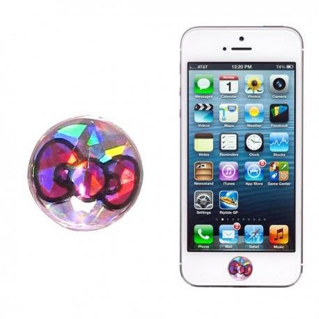 Botón IPhone brillo Kitty