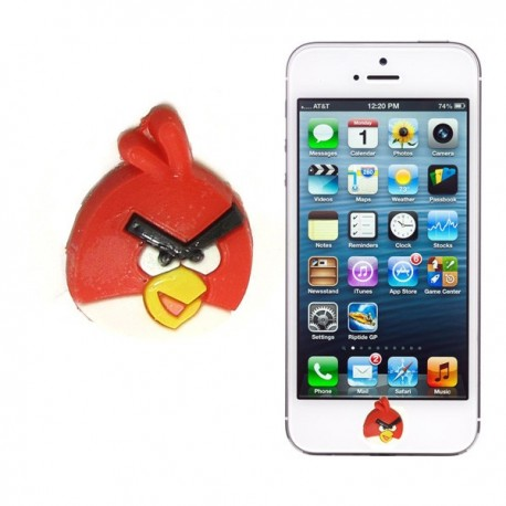 Boton Angry Iphone