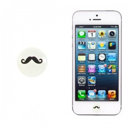 Boton Moustache2 Iphone