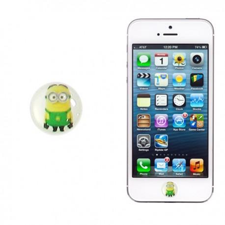 Botón Iphone Minion06