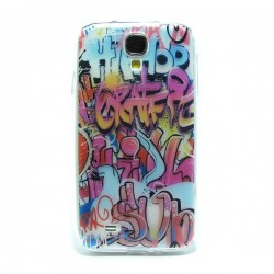 Funda de gel Graffity Galaxy S4