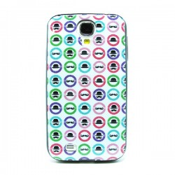 Funda de gel Moustache Galaxy S4