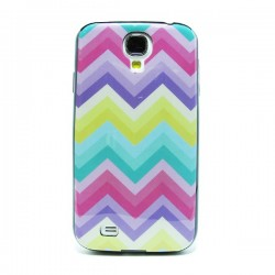 Funda de gel Etnic rainbow Galaxy S4