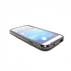 Bumper metálico con brillantes Galaxy S4