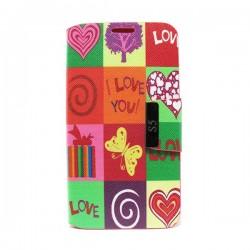 Funda de tapa Love Galaxy S5