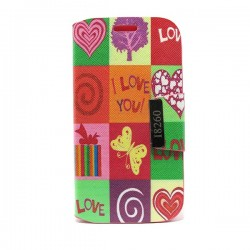 Funda de tapa Love Galaxy Core