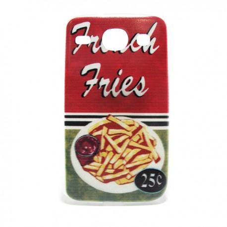 Funda de gel Fries para Galaxy Core