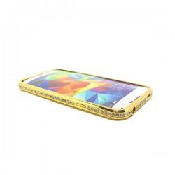 Bumper metálico con brillantes Galaxy S5