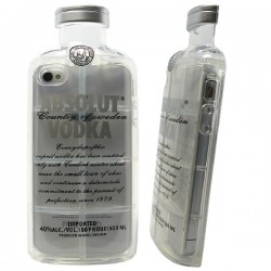Funda Botella Vodka iPhone 4