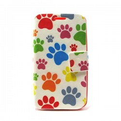 Funda huellitas Galaxy Core2