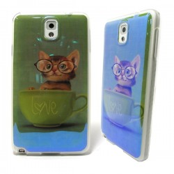 Funda Kitty Love Samsung Galaxy Note3