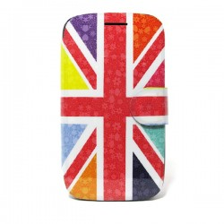 Funda de tapa Flower England Samsung Galaxy Core