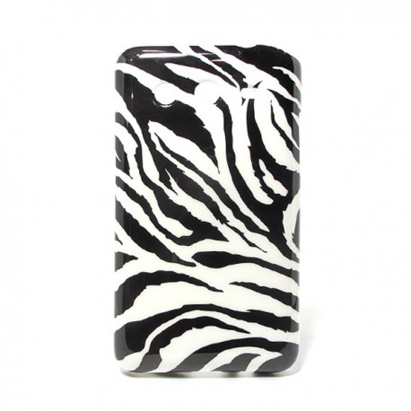 Funda de gel Cebra Galaxy Core 2