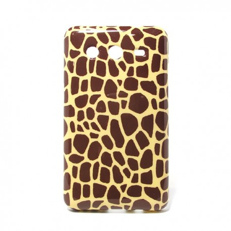 Funda de gel Jirafa Galaxy Core 2