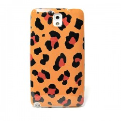 Funda de gel Leopardo Galaxy Note 3