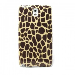 Funda de gel Jirafa Galaxy Note 3
