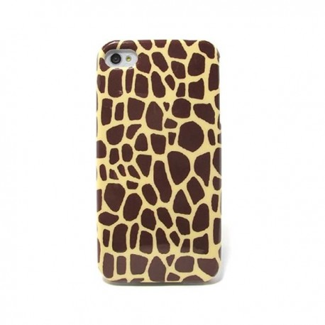 Funda de gel Jirafa iPhone4