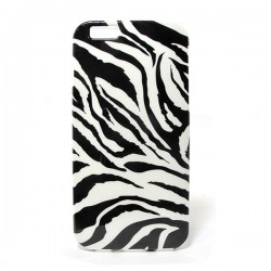 Funda de gel Cebra iPhone6 Plus