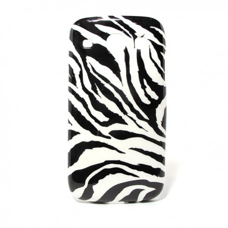Funda de gel Cebra Galaxy Core