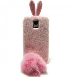 Funda de gel Peluche Conejo Galaxy S5