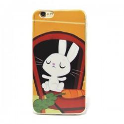 Funda de gel Rabbit para iPhone 6