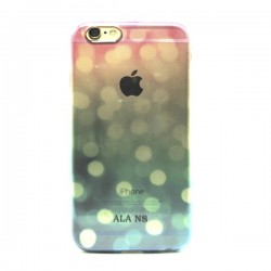 Funda de gel Reflejos iPhone 6 Plus