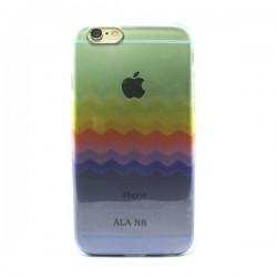 Funda de gel Color Waves iPhone 6