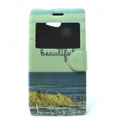 Funda de tapa Beautiful Life para Xperia M2