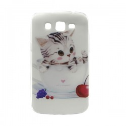 Funda de gel Cat's Language Galaxy Grand 2