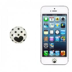 Botón iPhone Corazón