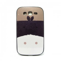 Funda purpurina Burrito Galaxy Core2