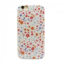 Funda de gel Small Flowers para iPhone 6