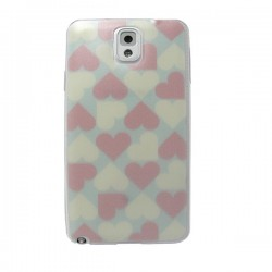 Funda Corazones Galaxy Note3
