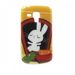 Funda de gel Rabbit pra Galaxy Trend