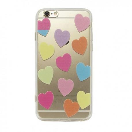 carcasa iphone 6 corazones