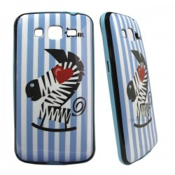 Funda Purpurina zebra¨s Love
