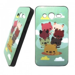 funda purpurina happy seven core 2