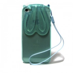 Funda de Gel Orejas iPhone 5