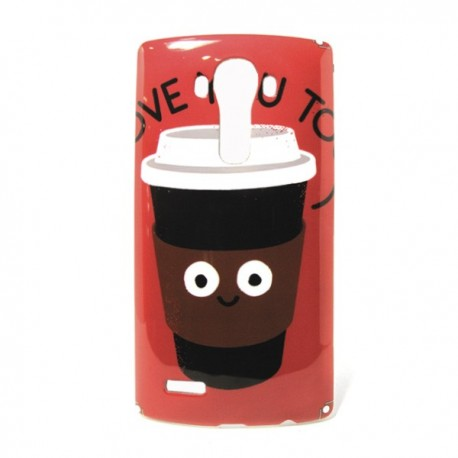 Funda coffe LG G4