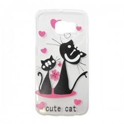 Gel Cute cat Glx S6 Edge