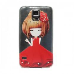 Funda Manga con brillos Galaxy S5