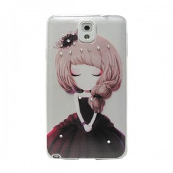 Funda Manga con brillos Galaxy Note 3
